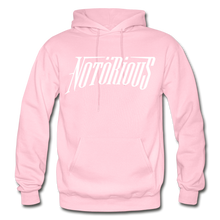 Load image into Gallery viewer, NOTÖRIOUS Adult Hoodie - light pink