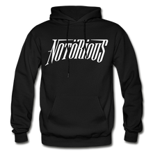 Load image into Gallery viewer, NOTÖRIOUS Adult Hoodie - black