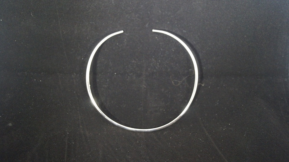 Jewelry Choker-Small Hammered