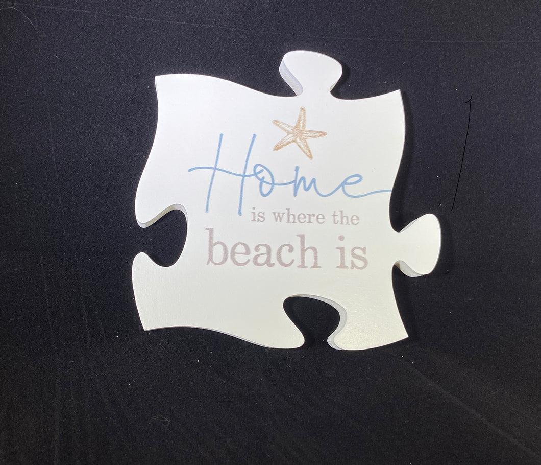 PUZZLE Home Is Where the Beach Is