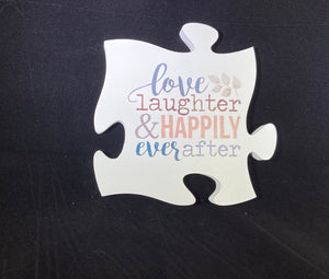 PUZZLE Love Laughter and Happily Ever After