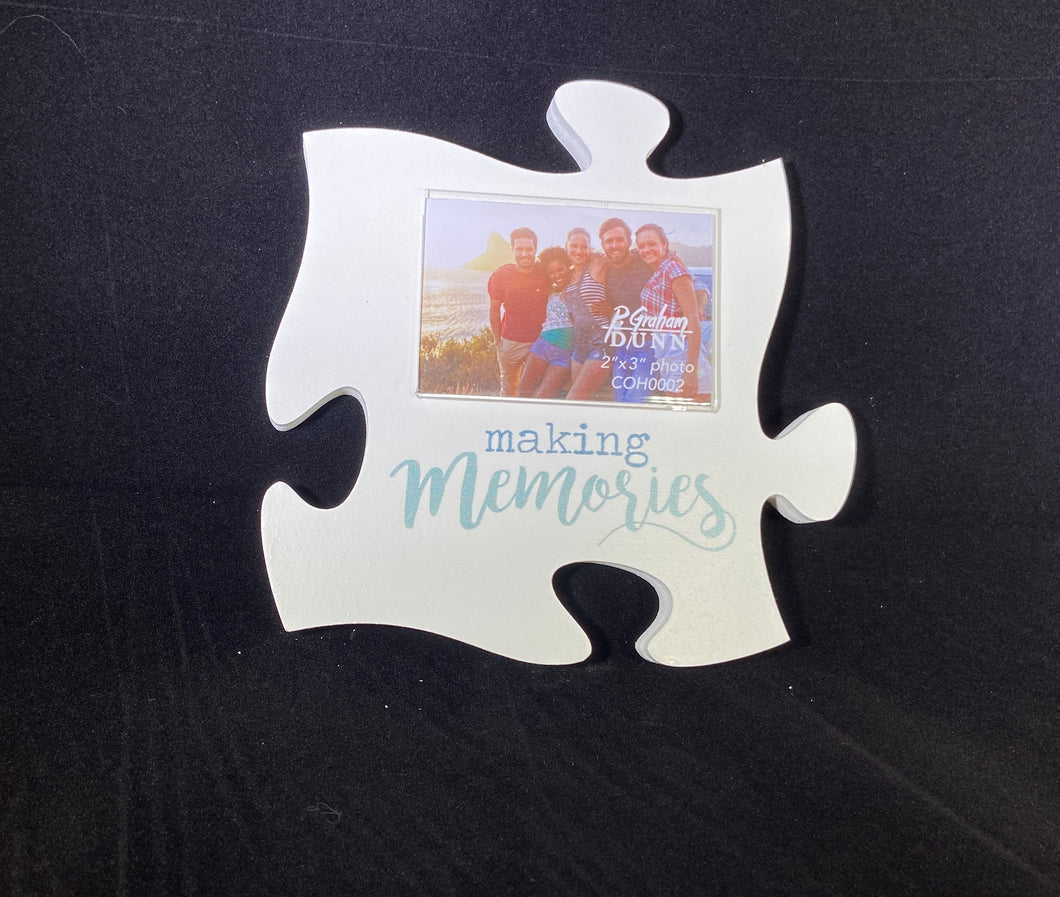 PUZZLE Making Memories Frame