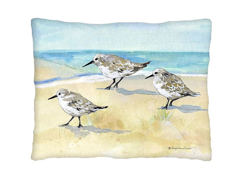 Sand Piper Pillow
