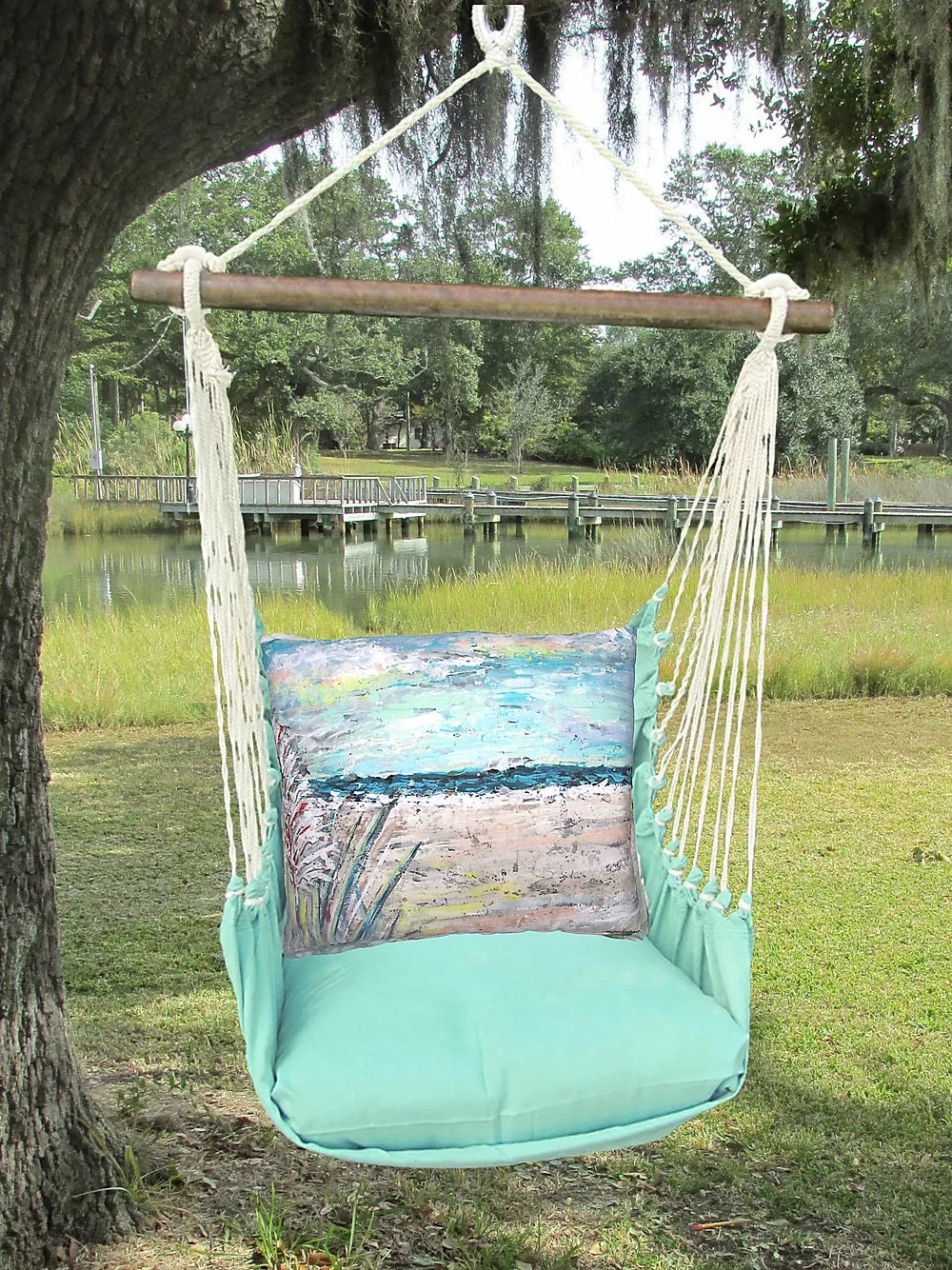 Seafoam Green Swing