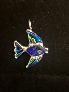 SLIDER: Angelfish Sterling Silver