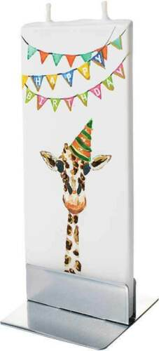 Candle Happy Birthday Giraffe