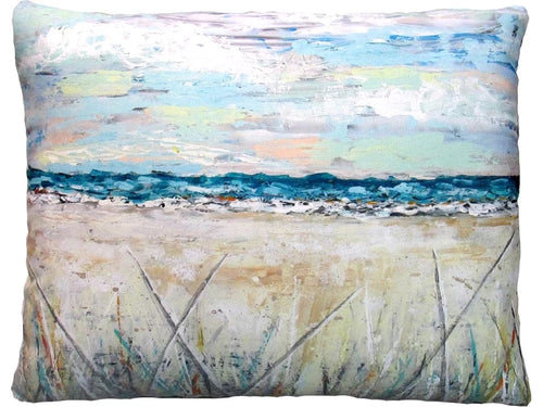 Coastal Landscape Pillow