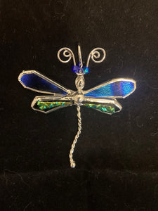 SLIDER: Dragonfly Sterling Silver