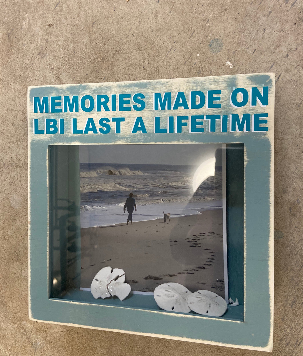 Shell Holder-Memories made on LBI last a Lifetime