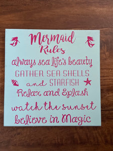 Mermaid Rules