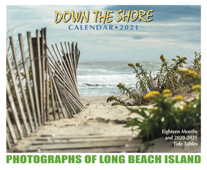 Down the Shore 2021 calendar