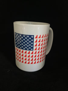 Dog Flag 15 oz mug