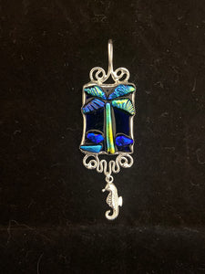 SLIDER: Palm Tree Sterling Silver