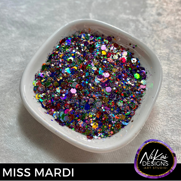 MISS MARDI - NiKai Designs Art Studio Glitter