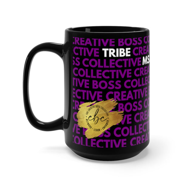 CREATIVE BOSS COLLECTIVE OFFICIAL MUG - BLACK + PURPLE