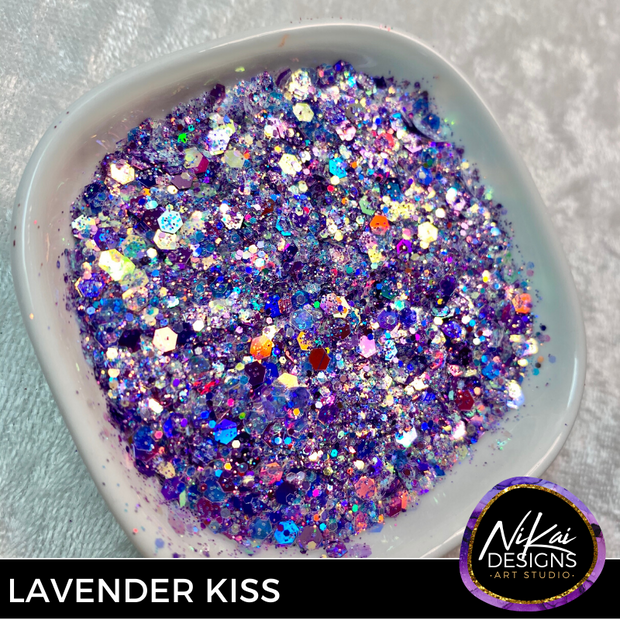 LAVENDER KISSES - NiKai Designs Art Studio Glitter