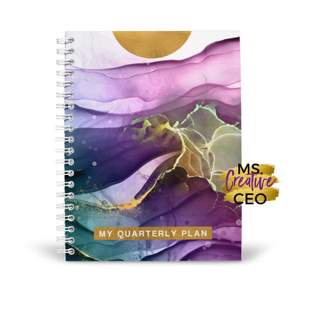 MS. CREATIVE CEO QUARTERLY PLANNER