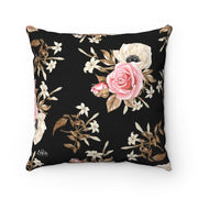 'She Pretty' Floral -  Spun Polyester Pillow