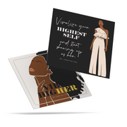 'BOHO CHIC' AFFIRMATION CARDS - PRINTABLE