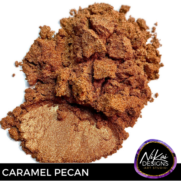 CARAMEL PECAN - NiKai Designs Art Studio Mica Powder