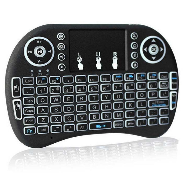 Mini Teclado Multimedia Inalámbrico para Smart Tv PC Laptop