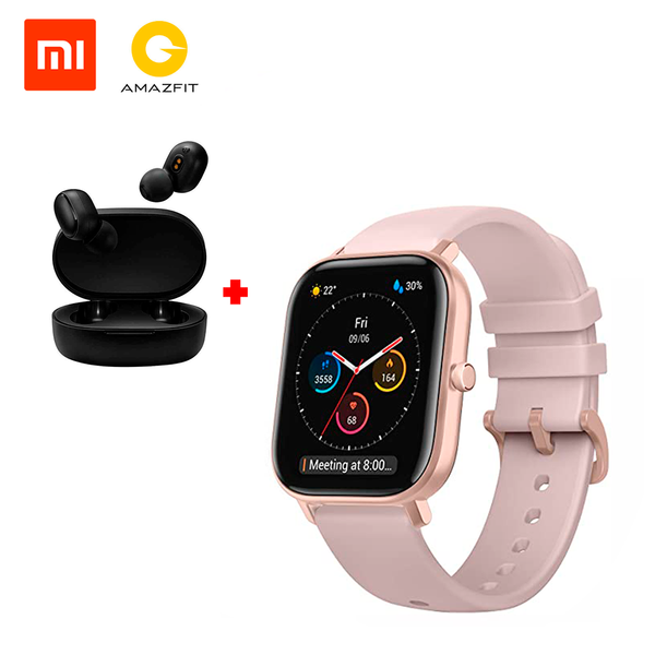 Amazfit GTS A1914 + Xiaomi Mi True Wireless Earbuds Basic 2