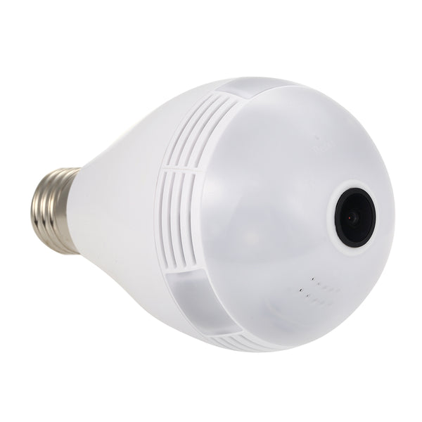 Foco Led Smart con Camara de Vigilancia 360º IP  HD  con WiFi - Vision Nocturna - Deteccion de Movimiento
