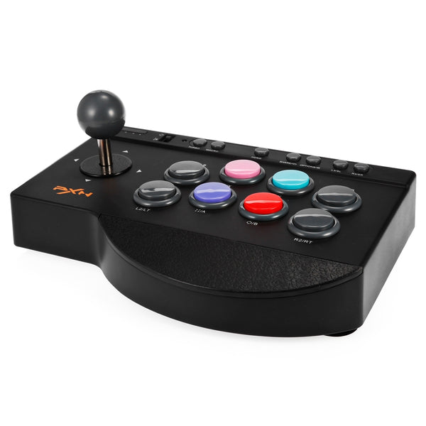 Joystick Arcade PXN-0082, Compatible con PC, PS3,PS4,XBOX ONE, SWITCH y TV BOX