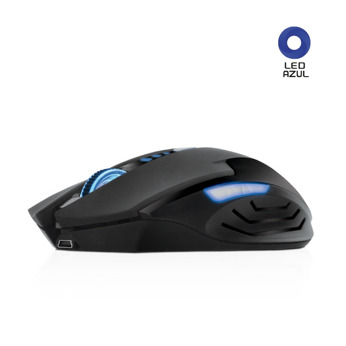 Mouse Optico Cybertel CYB M600RX Inalambrico con Luces LED usb