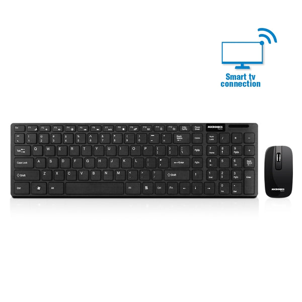 Mouse y teclado inalámbricos Micronics Mic WT801