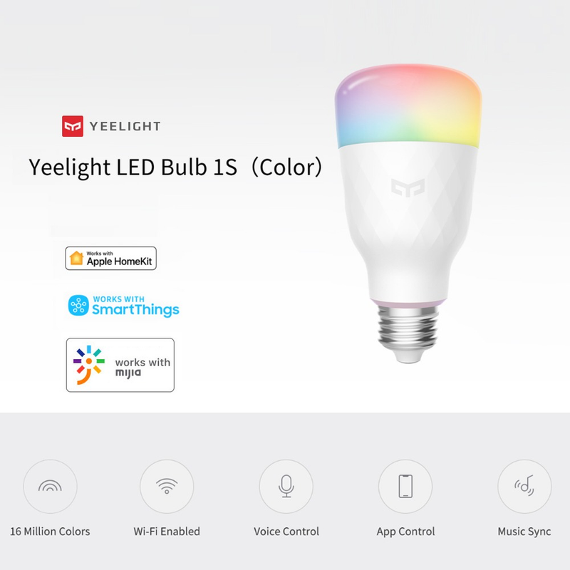 Foco Led Inteligente Yeelight Bulb 1S YLDP13YL