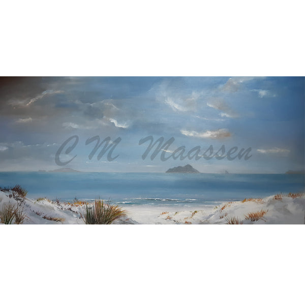 Bream Bay original Artworks by Christina Maassen
