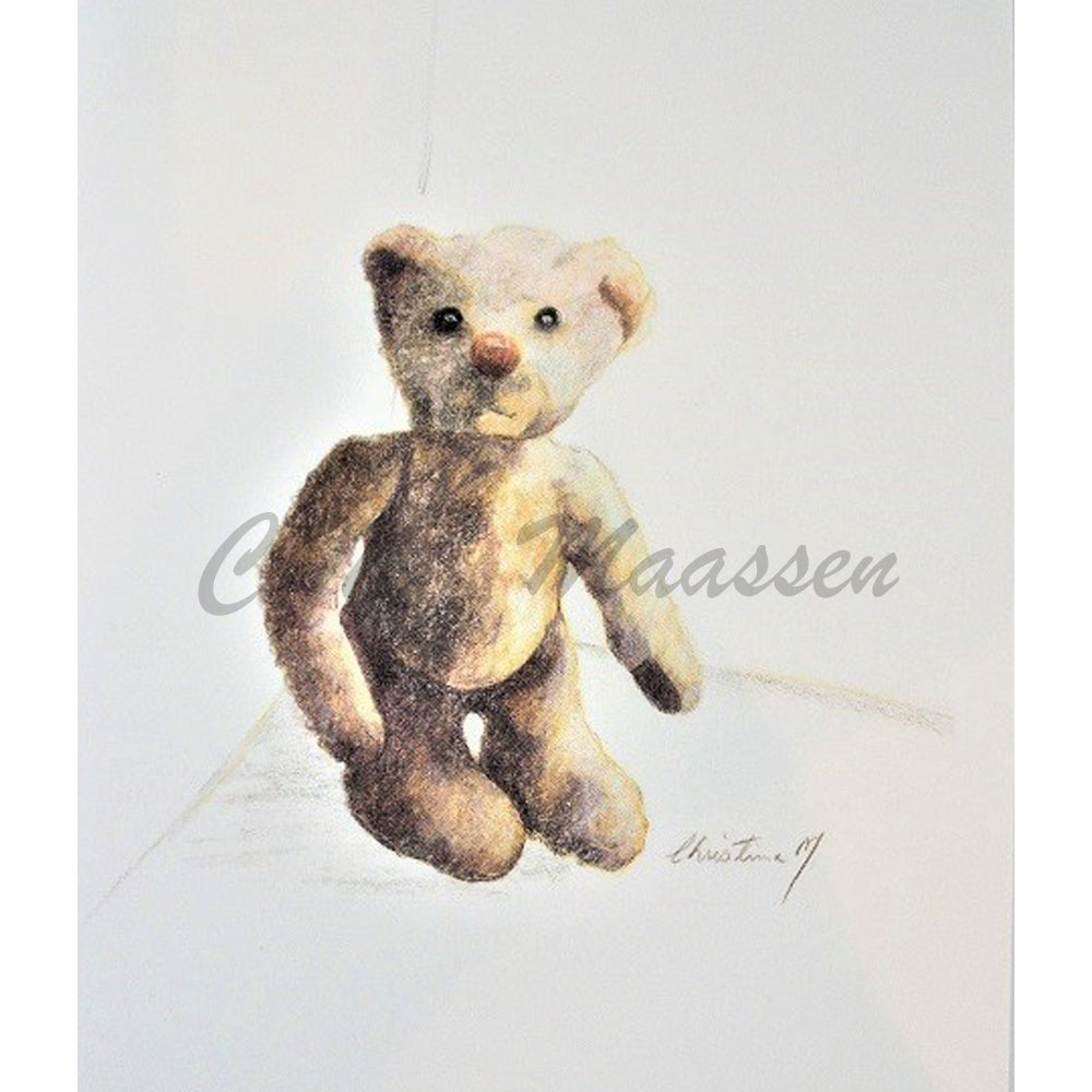 Curly Bear Cards by Christina Maassen