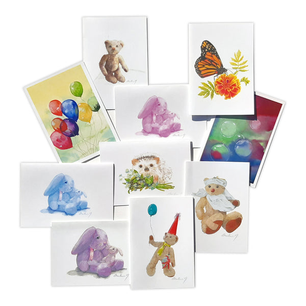 Kiddies Card Pack by Christina Maassen