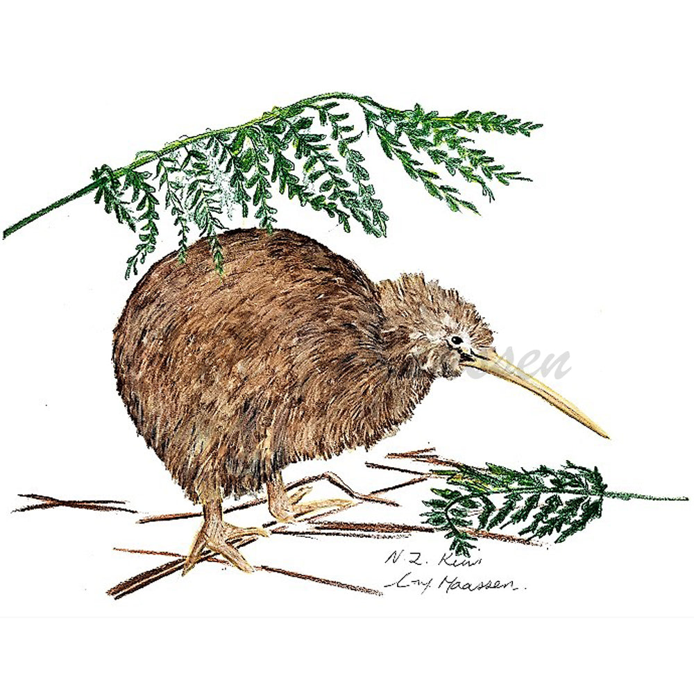 Kiwi Cards by Christina Maassen