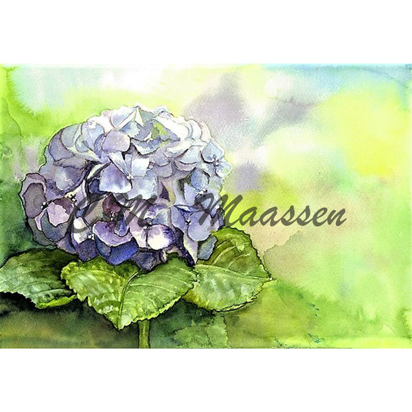 Hydrangea Card by Christina Maassen
