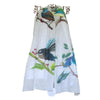 Native Birds Large Print Scarf by Christina Maassen