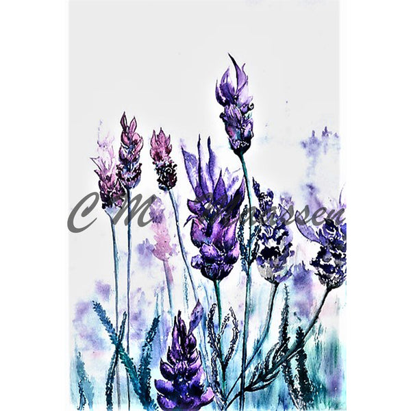 Lavender Cards by Christina Maassen