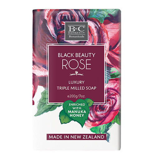 Black Beauty Rose Luxury Soap