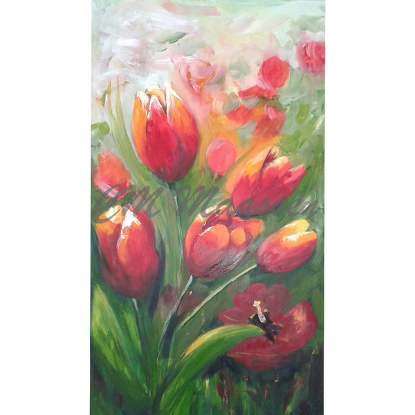 Tulip Song original artworks by Christina Maassen