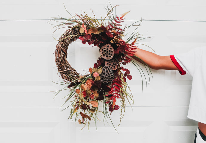 Fall Wreath Making Workshop - The Boiler Room Baltimore 9/24/20