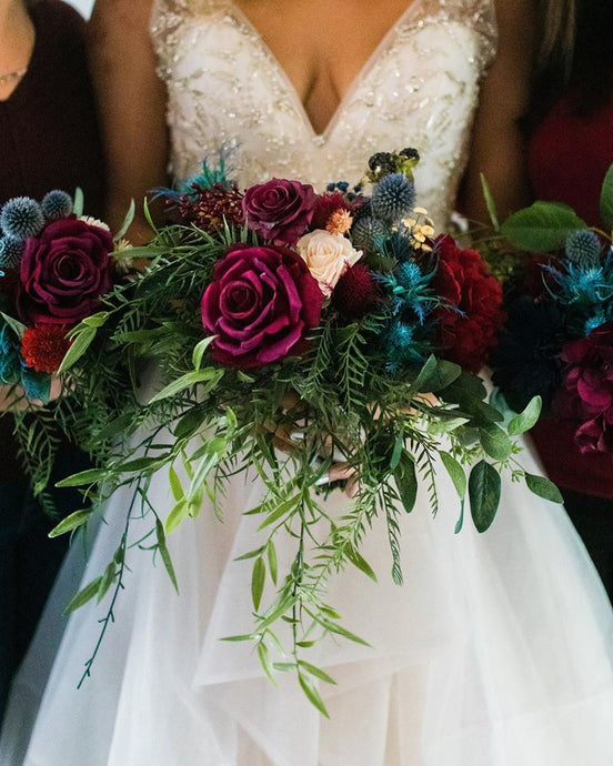 KATY MURRAY PHOTOGRAPHY: Faux Flowers for Your Wedding by Alyssa Grogan of The Rogue Petal Co.