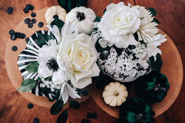 How to Floral Painted Pumpkins DIY Fall Crafting