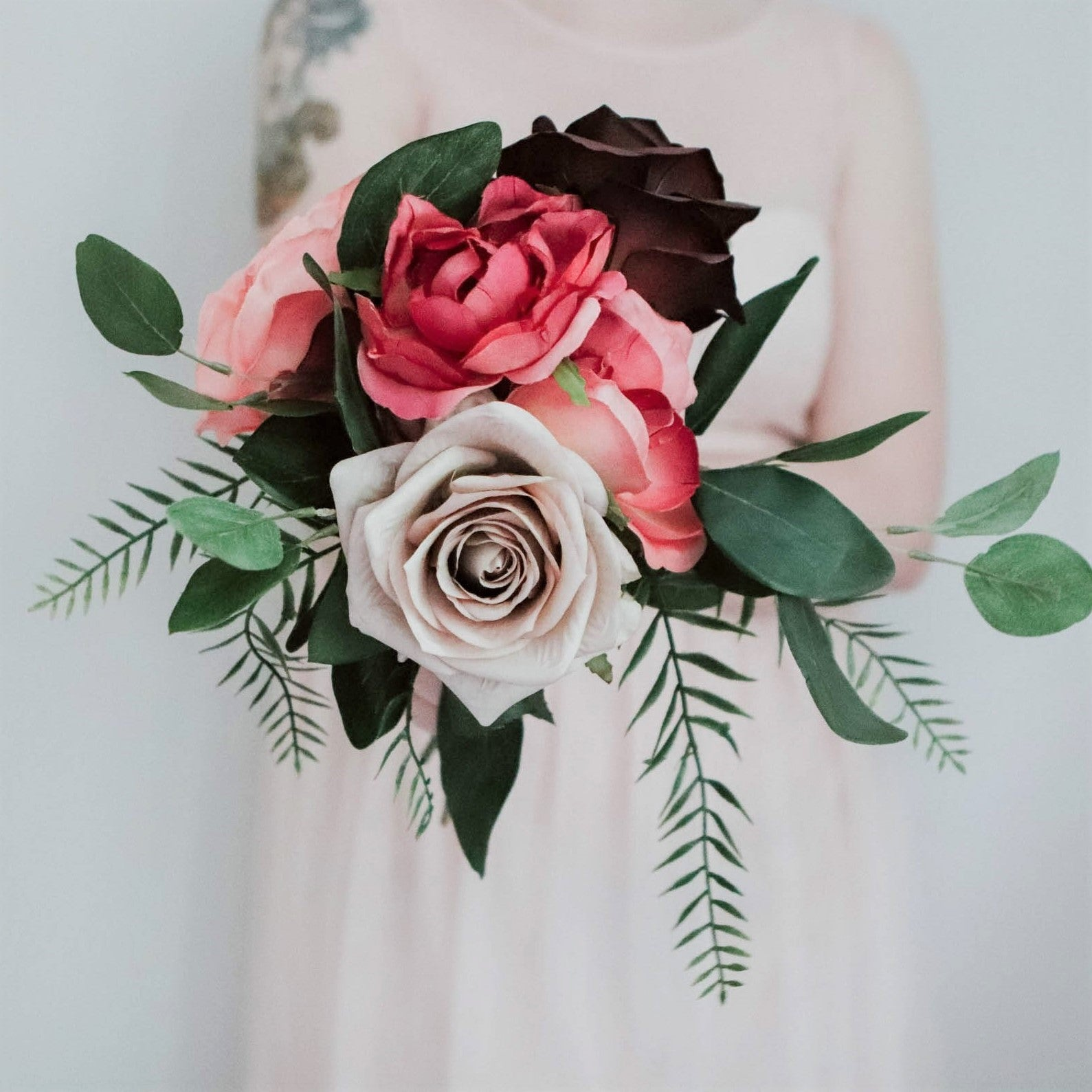 Elsie Bridesmaid/Tossing/Sample Bouquet