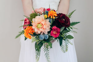 Florence Medium Bridal Bouquet