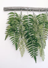 Load image into Gallery viewer, Forest and Maiden Hair Fern Wall Hanging