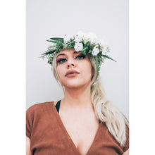Load image into Gallery viewer, Prudence Full Side Flower Crown