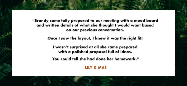 Testimonial of Brandy Klindworth and Ladder Mouse from Lily & Mae
