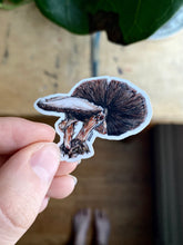 "Load image into Gallery viewer, ""Refuge"" Mushroom Sticker"
