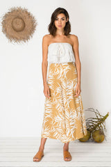 Ticket to Ride Culottes - Sheltering Palm